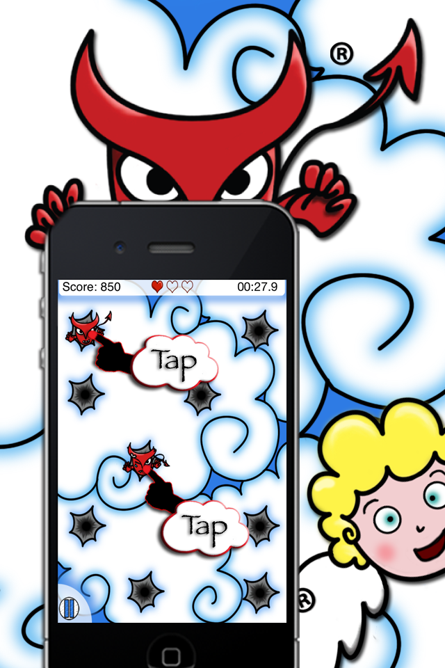 Screenshot Trip in Tap – Angry Devils VS Angels